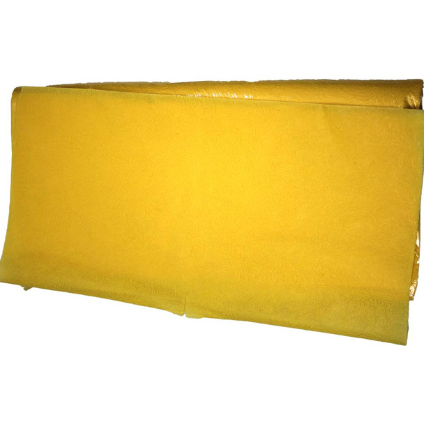 """24"""" Yellow Non-Woven Floral Wrapping Paper -  50 Sheets"""