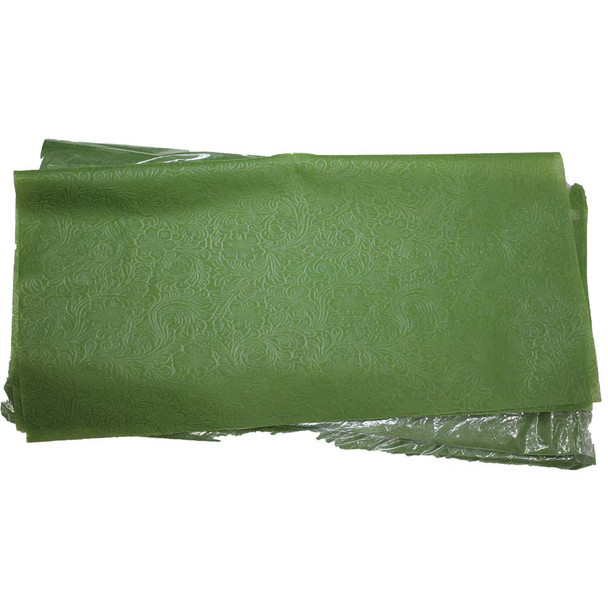 """24"""" Green Non-Woven Floral Wrapping Paper -  50 Sheets"""