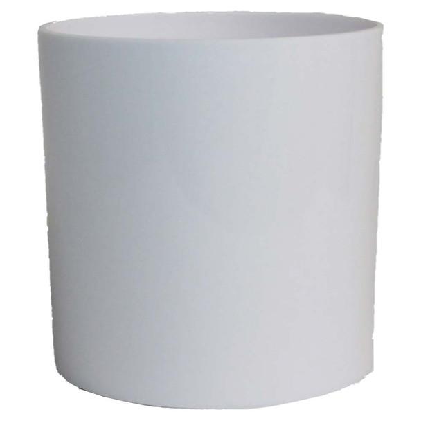 """4"""" White Acrylic Cylinder Vase"""