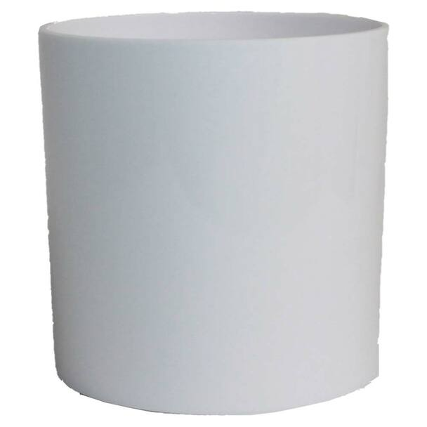 """5"""" White Acrylic Cylinder Vase"""