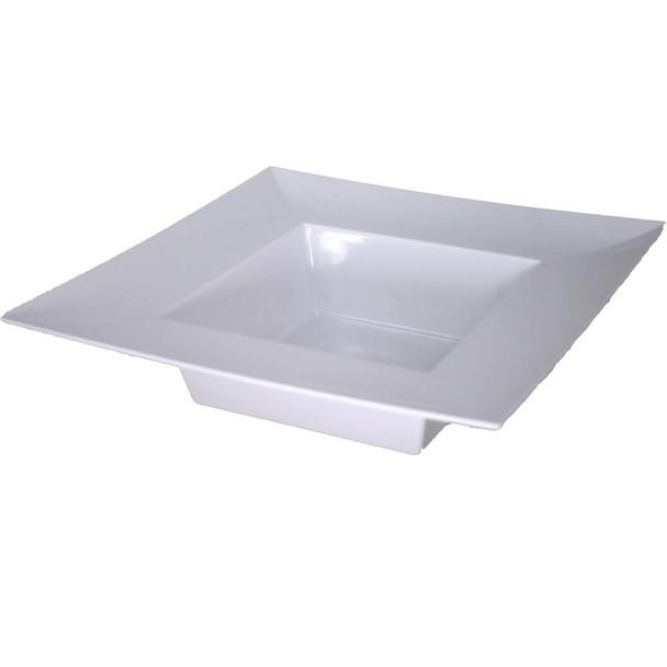 "10"" White Square Designer Tray"
