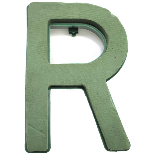 "12"" Fresh Floral Foam Letter ""R"""