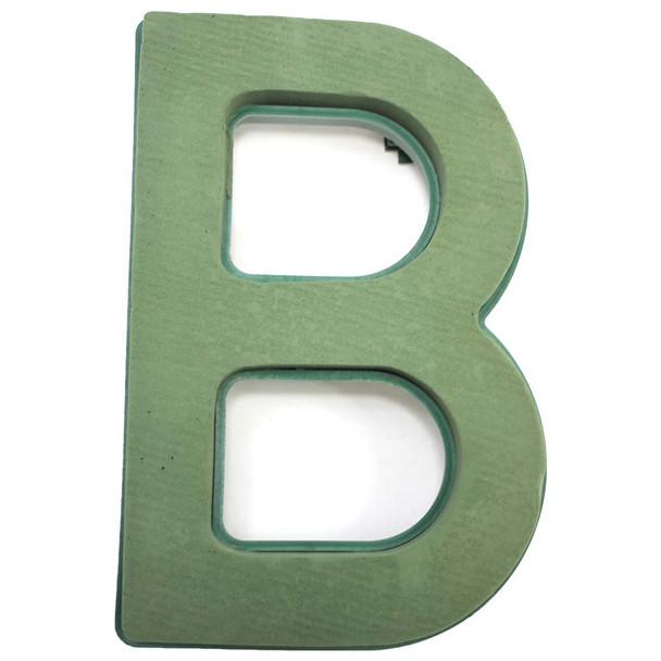 "12"" Fresh Floral Foam Letter ""B"""