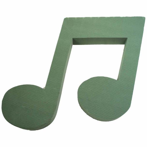 "14"" Music Note Fresh Floral Foam"
