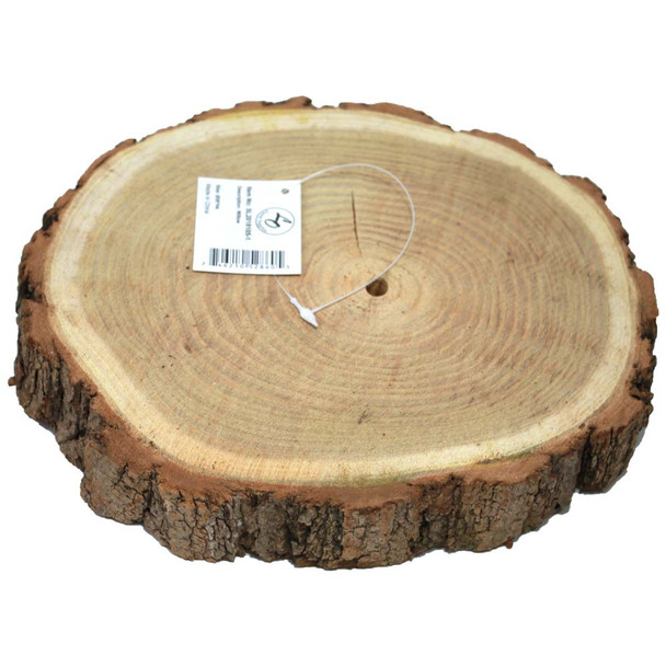 """9"""" - 10"""" Wood Charger Slabs Plates"""
