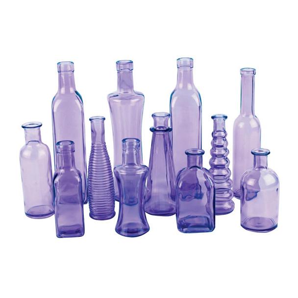 Purple Vintage Bottle Assortment