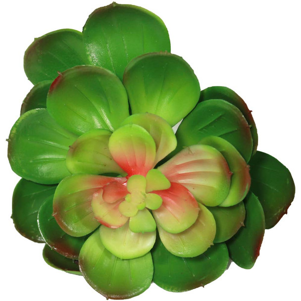 """5"""" Green Blooming Artificial Succulent Plant"""