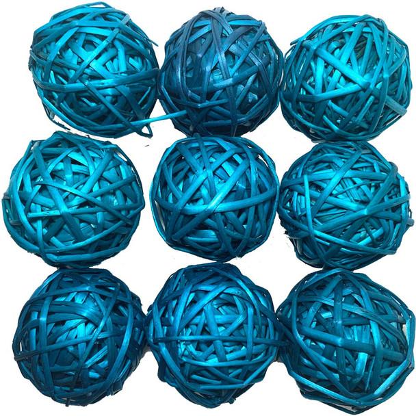 "2"" Blue Vine Ball"
