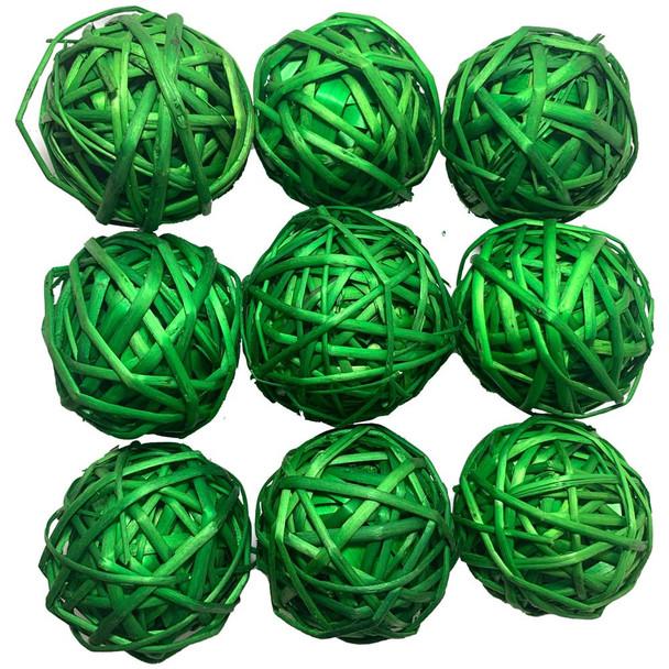 "2"" Green Vine Ball"