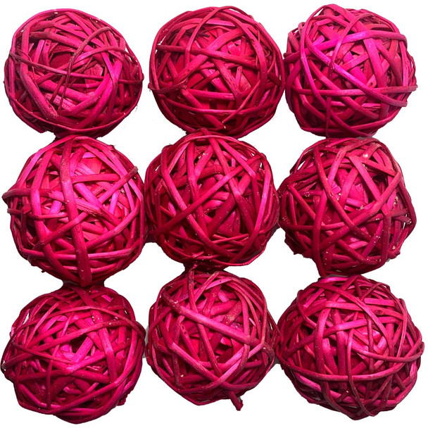 "2"" Red Vine Ball"