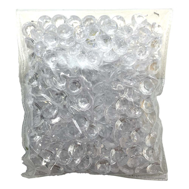 10mm Clear Acrylic Diamonds