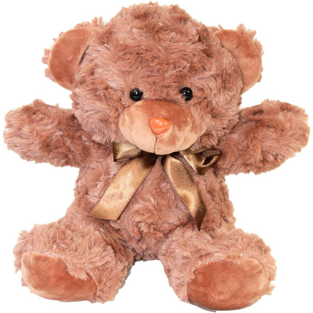 """7"""" Brown Teddy Bear with Ribbon"""