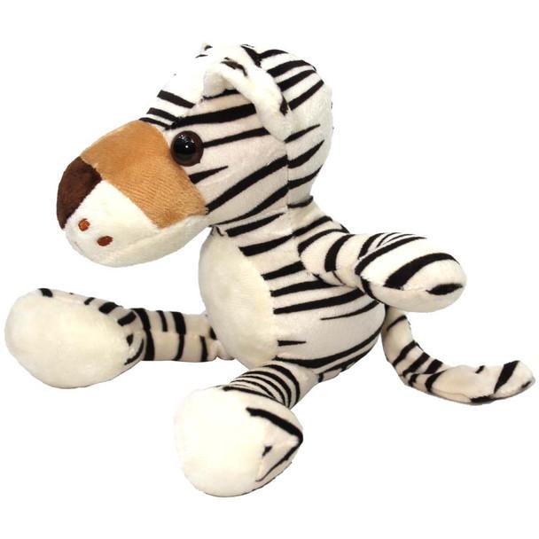 "8"" Ivory Tiger Stuffed Animal"