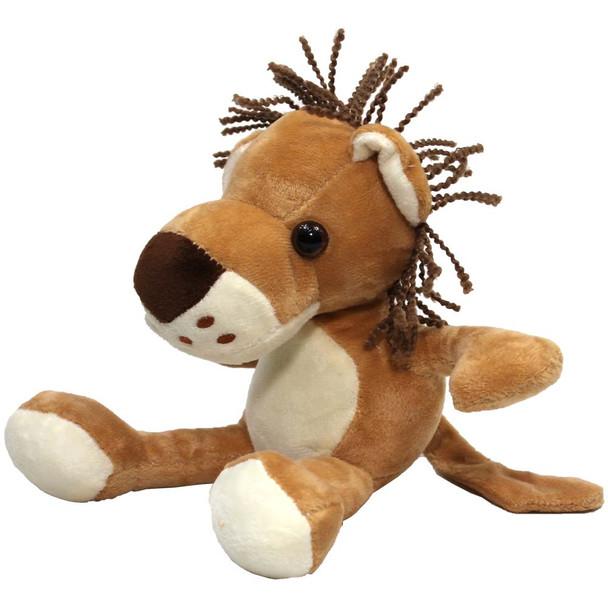 "8"" Brown Lion Stuffed Animal"