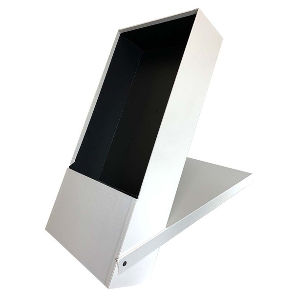 White Folding and Standing Rose Gift Box with Liner