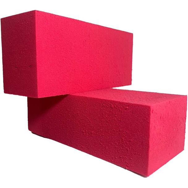 Fuchsia Fresh Floral Foam Bricks - 12 Pieces