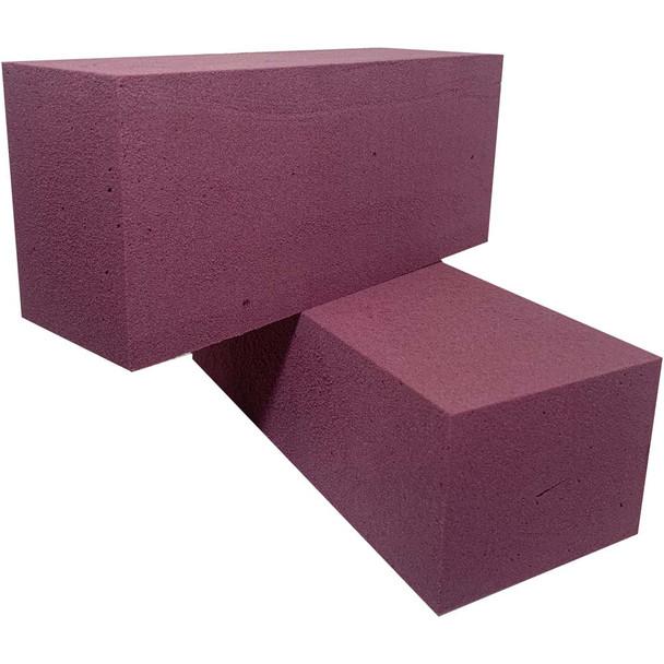 Purple Fresh Floral Foam Bricks - 12 Pieces