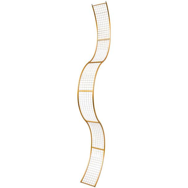 "116"" Gold Design Structure"