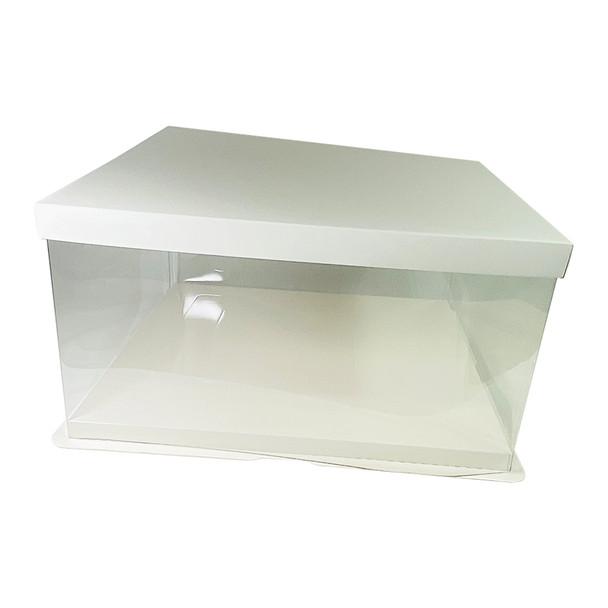 """14"""" Acrylic Oversized Display Box - White"""