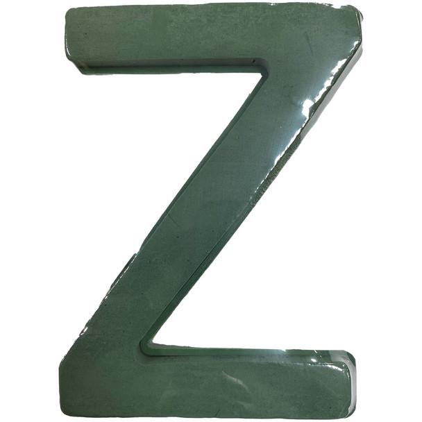 """12"""" Fresh Floral Foam Letter """"Z"""""""