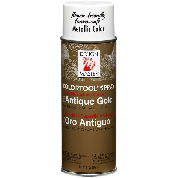 Antique Gold Color Spray