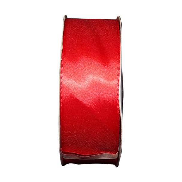 "1.5"" Red Single Face Satin Ribbon"
