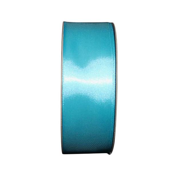 """1.5"""" Turquoise Single Face Satin Ribbon"""