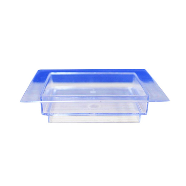 """Clear 2.75"""" Square Dessert Tray 12PCS/Pack"""