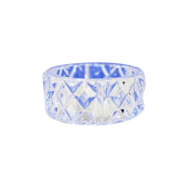 Clear Plastic Napkin Ring Holder 12PCS/Pack