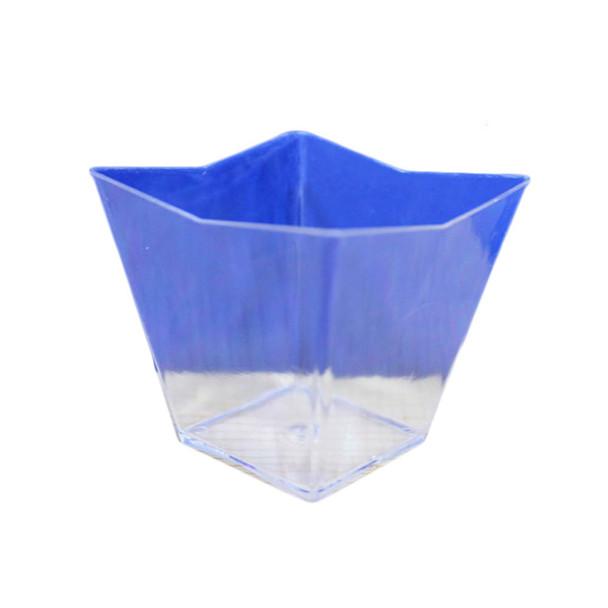 Clear Trap. Plastic Dessert Bowl 12PCS/Pack