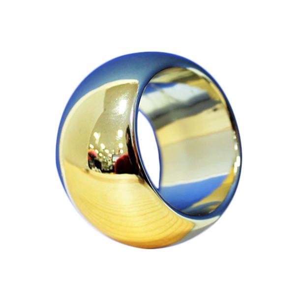 Gold Round Ring Napkin Holder 06PCS/Pack