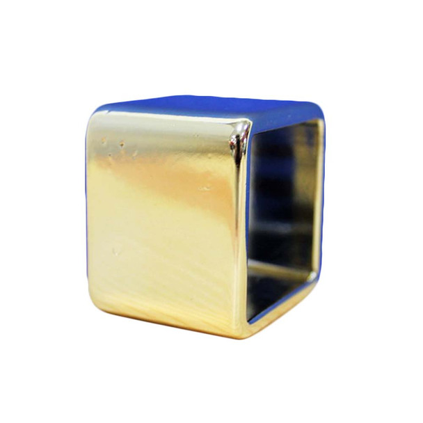 Gold Square Ring Napkin Holder 06PCS/Pack