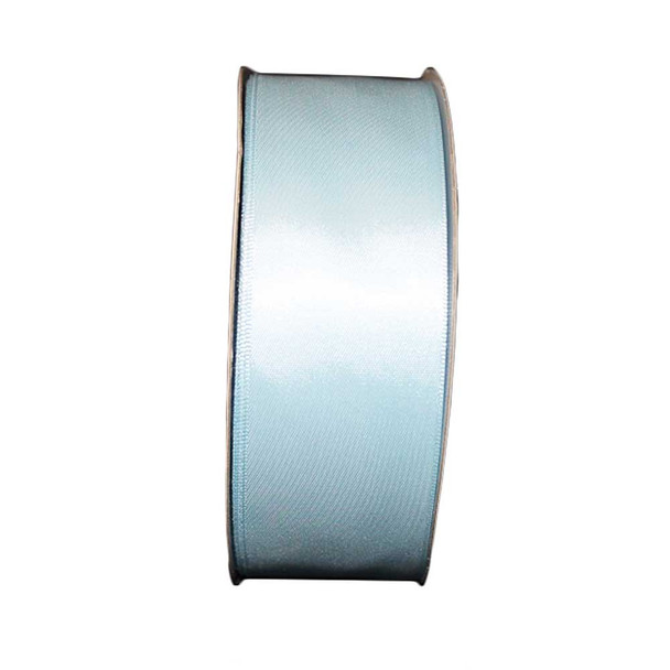 """1.5"""" Light Blue Single Face Satin Ribbon"""