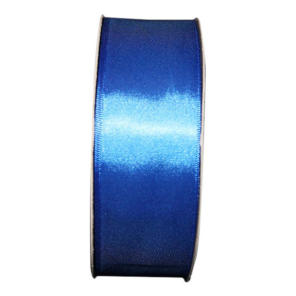 "1.5"" Royal Blue Single Face Satin Ribbon"