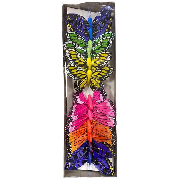 """3"""" Assorted Butterflies"""