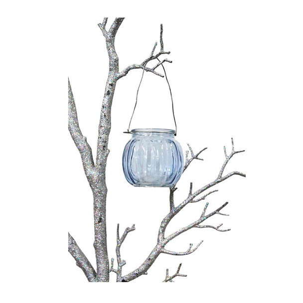 """3"""" Blue Hanging Cup Candle Holder"""