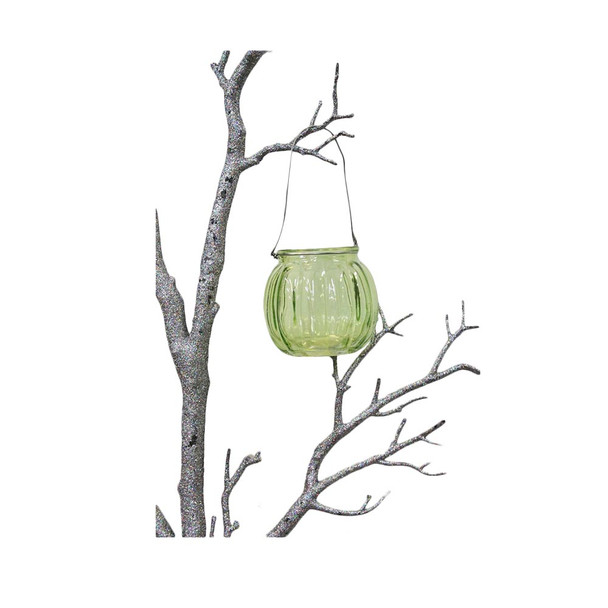 "3"" Green Hanging Cup Candle Holder"