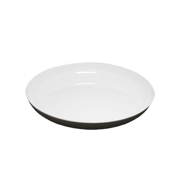 """9"""" White Lomey Designer Dish"""