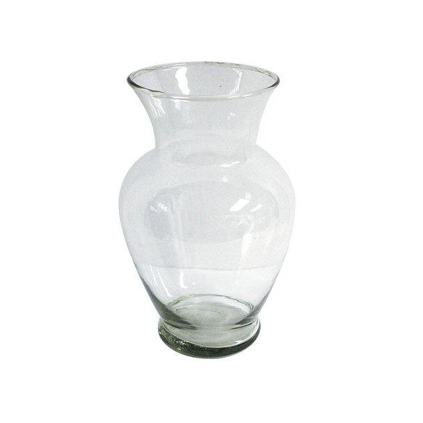 "11""H Spring Garden Glass Vase"
