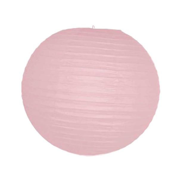 "12"" Pink Round Paper Lantern"