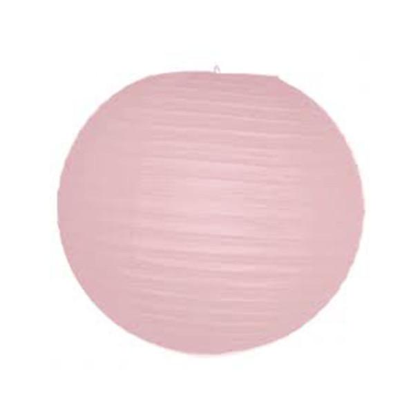 "14"" Pink Round Paper Lantern"