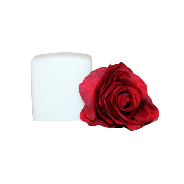 "2.75""X3"" White Sq Candle"