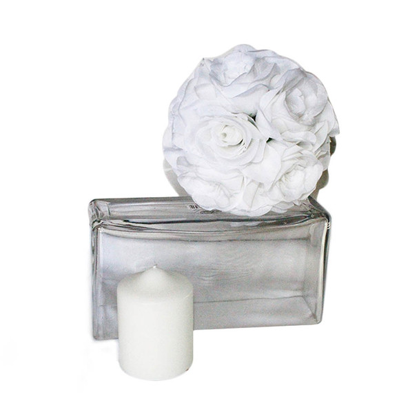 "3"" x 4"" White Pillar Candle"