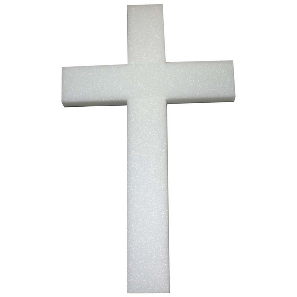 "30"" Styrofoam Cross"