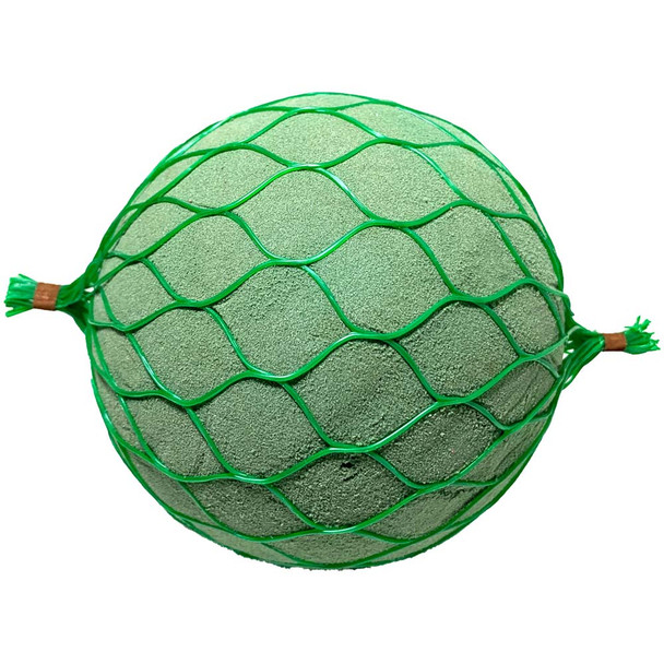 "4.5"" Floral Foam Netted Sphere"