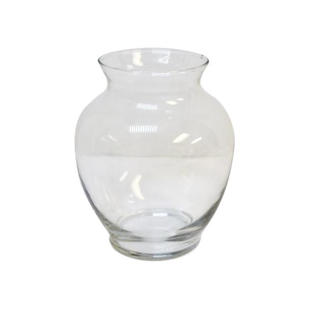 """6.25""""H Ginger Glass Vase"""