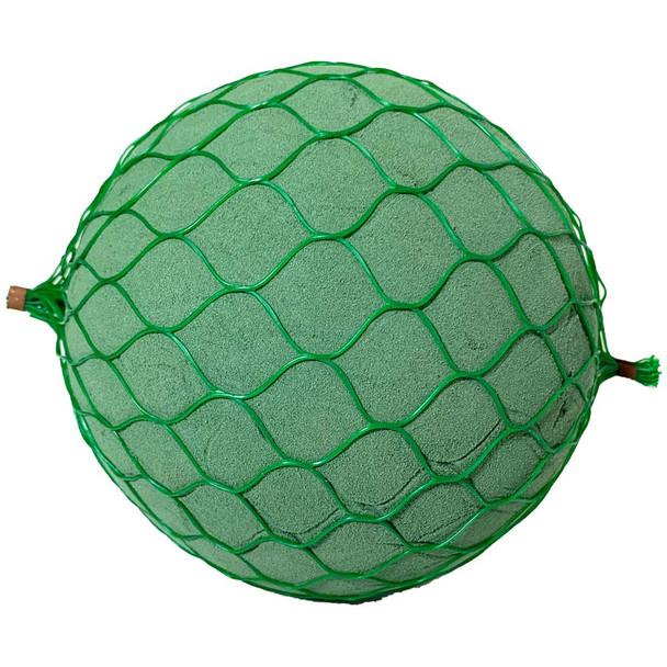 "6"" Floral Foam Netted Sphere"