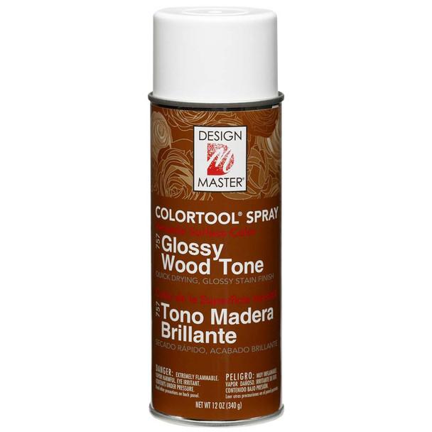 Glossy Wood Tone Color Spray