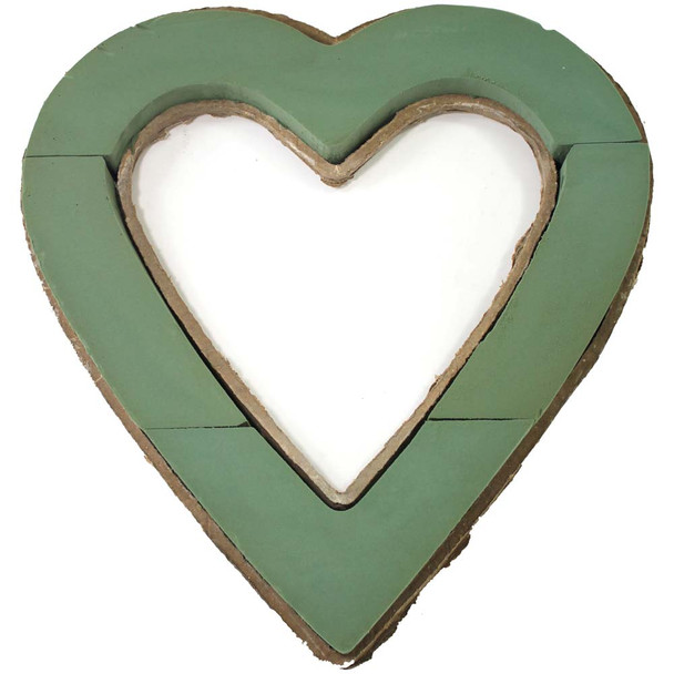 "18"" Fresh Floral Foam Open Heart"