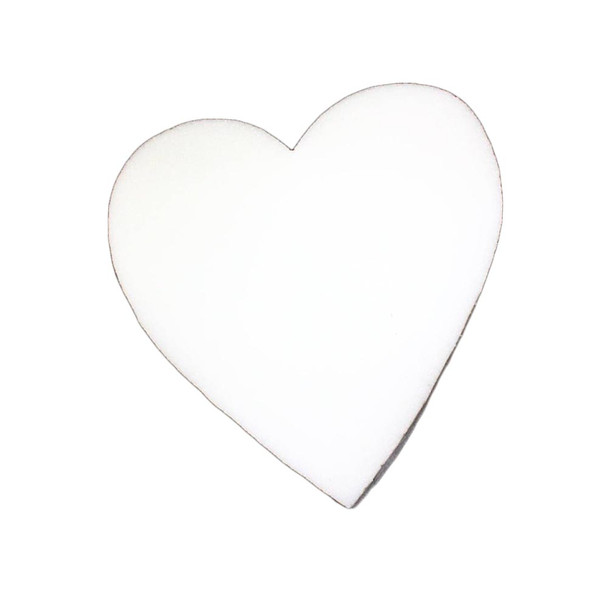 """20"""" X 2"""" Solid Heart"""